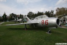 Museum of Aviation Technology Minsk Air Museum MiG-15