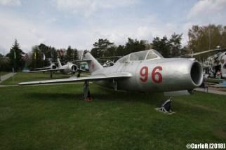 Museum of Aviation Technology Minsk Air Museum MiG-15