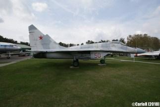 Museum of Aviation Technology Minsk Air Museum MiG-29