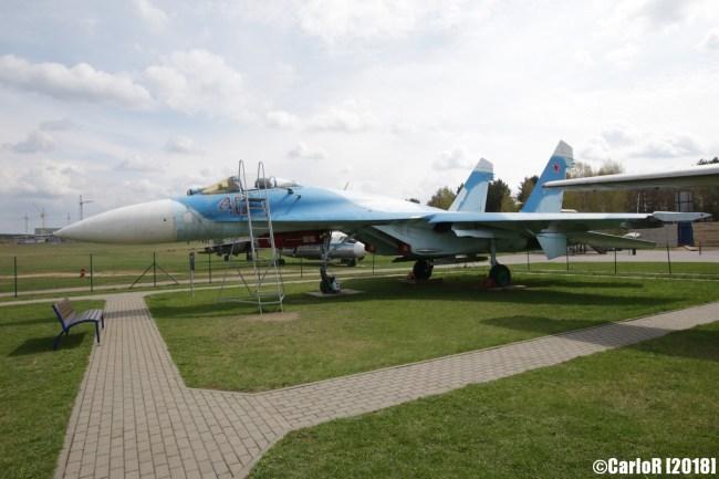 Museum of Aviation Technology Minsk Air Museum Sukhoi Su-27