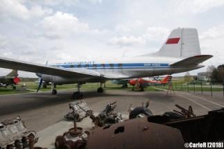 Museum of Aviation Technology Minsk Air Museum Ilyushin Il-14