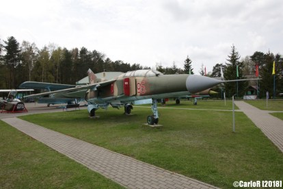 Museum of Aviation Technology Minsk Air Museum MiG-23