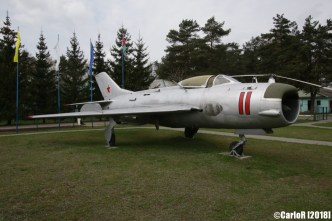 Museum of Aviation Technology Minsk Air Museum MiG-19