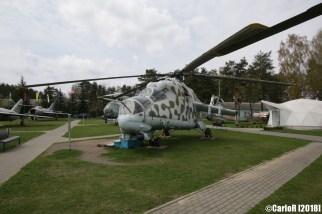 Museum of Aviation Technology Minsk Air Museum Mil Mi-24