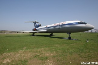 Minsk Airport Museum of Aviation Technology Minsk Air Museum Tupolev Tu-154
