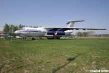 Minsk Airport Museum of Aviation Technology Minsk Air Museum Ilyushin Il-76