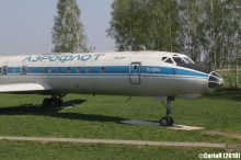 Minsk Airport Museum of Aviation Technology Minsk Air Museum Tupolev Tu-134