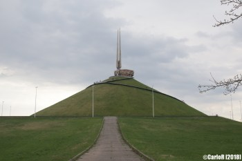 Mound of Glory Soviet Victory Monument Minsk Belarus