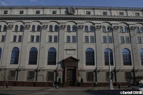 Minsk Belarus Bank Worlds Longest Boulevard
