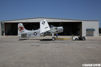 Cavanaugh Flight Museum Skyraider