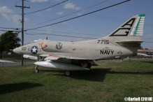 Fort Worth Aviation Museum Skyhawk