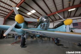 Cavanaugh Flight Museum Heinkel 111