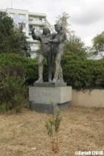 Prague Soviet Relic Astronaut Statue Gagarin