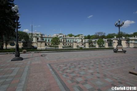Kiev Marijnsky Palace Presidential Residence Ukraine