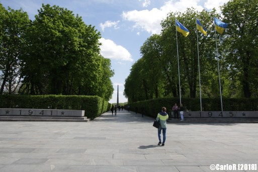 Kiev Monument to Unknown Soldier