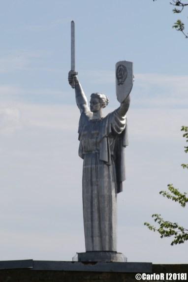 Kiev Monument Victory Soviet Statue Gigantic Patriotic War Motherland