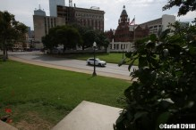 Kennedy Assassination Oswald Dallas Grassy Knoll View