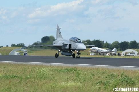 Jagel Spotterday 2019 SAAB JAS-39D Gripen 43 Hungarian Air Force