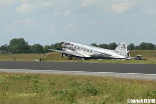 Jagel Spotterday 2019 70th Anniversary Berlin Airlift Douglas DC-3A NC24320 Johnson Flying Service Inc.
