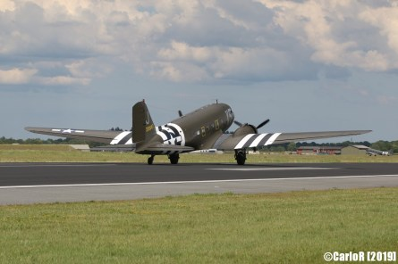 Jagel Spotterday 2019 70th Anniversary Berlin Airlift Douglas C-47A USAAF 330647 N62CC