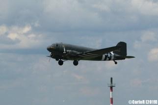 Jagel Spotterday 2019 70th Anniversary Berlin Airlift Douglas C-47A USAAF 224064 N74589