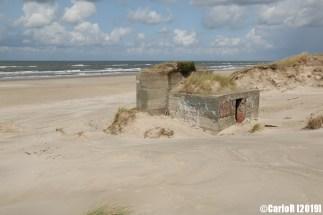Atlantic Wall Stronghold Blaavand (Blåvand) Denmark Nazi Defense Line Atlantikwall