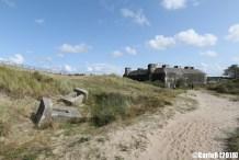 Atlantic Wall Tirpitz Battery Blaavand (Blåvand) Denmark Nazi Defense Line Atlantikwall