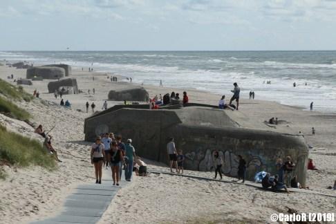 Atlantic Wall Sondervig Beach Denmark Nazi Defense Line Atlantikwall