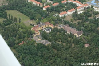 Wünsdorf Soviet Nazi Military Headquarters Abandoned East Germany (DDR) - Aerial View Picture Luftbild