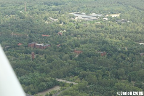 Kummersdorf Soviet Base Abandoned East Germany (DDR) - Aerial View Picture Luftbild
