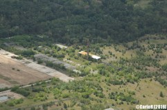 Forst Zinna Soviet Base Abandoned East Germany (DDR) - Aerial View Picture Luftbild