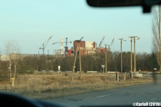 Road Contaminated Cold War Chernobyl Nuclear Power Plant Exclusion Zone Pripyat