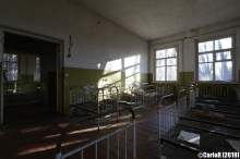 Contaminated Kindergarten Monument Cold War Chernobyl Nuclear Plant Exclusion Zone Pripyat