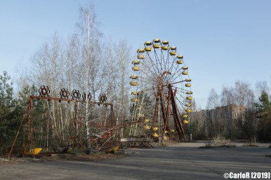 Ghost Town Amusement Park Pripyat Cold War Chernobyl Nuclear Power Plant Exclusion Zone