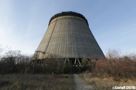 Reactor Funnel Contaminated Cold War Chernobyl Nuclear Power Plant Exclusion Zone Pripyat