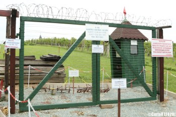 Iron Curtain Museum Vasfuggony Felsocsatar Szombathely Hungary Austria Border