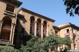 Yerevan Soviet-style stalinist buildings - Armenia