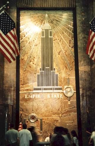 New York Empire State Building Interior