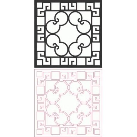 Dxf Pattern Designs 2d 156 Fichier DXF