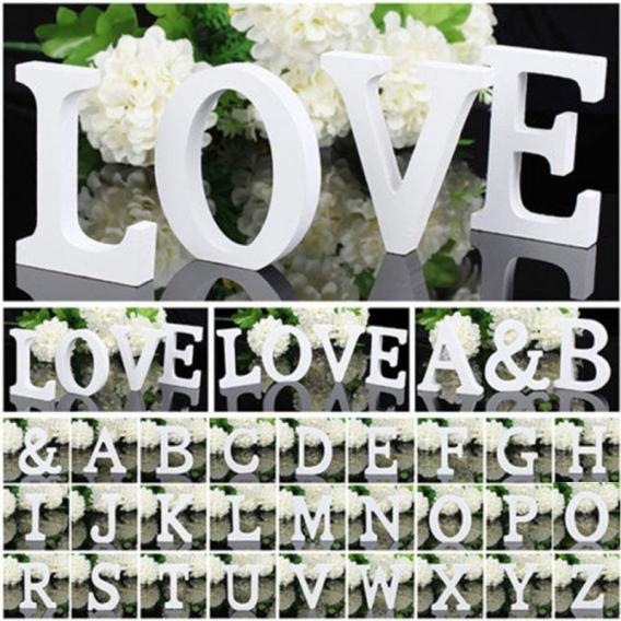 3D lettres en bois letras decorativas personnalisé nom Design Art artisanat