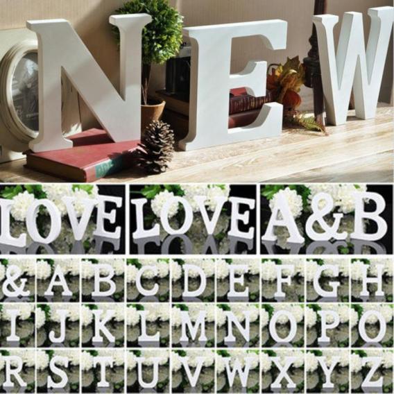 3D lettres en bois letras decorativas personnalisé nom Design Art artisanat bois décoration letras de madera houten lettres 4