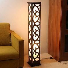 Lampes motif décorative Swirl