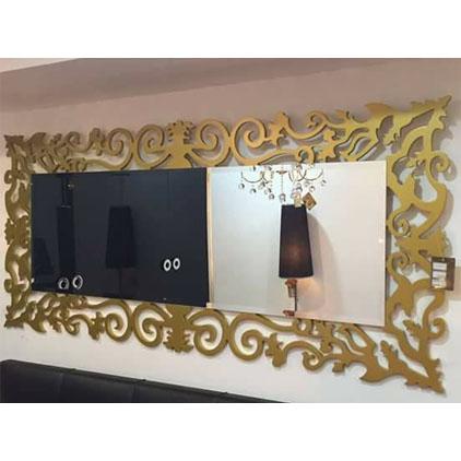 Miroirs pour salon décoré