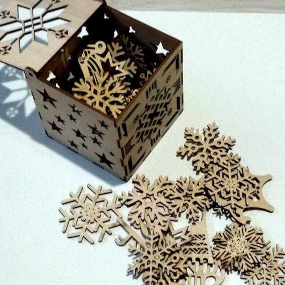 Boîte décorative de cadeau