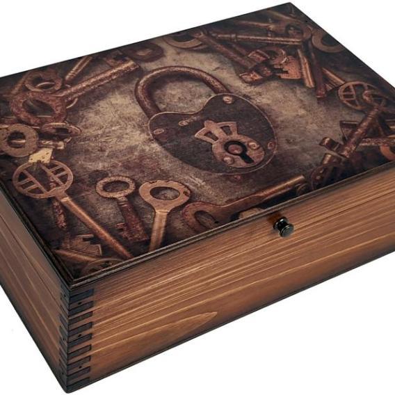 Boîte de mémoire vintage