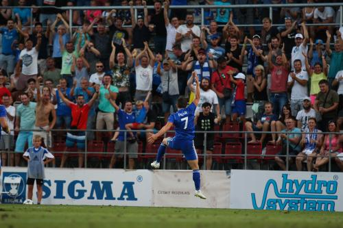 Pilař slaví druhý gól do sítě Kairatu
