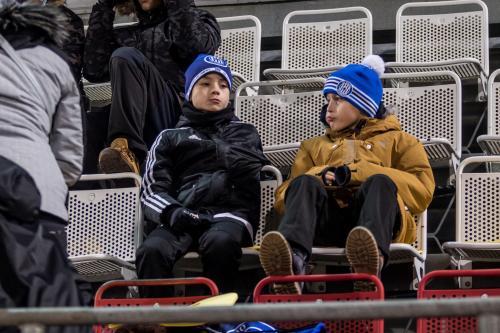 Mladíci na tribunách s výkonem spokojeni rozhodně nebyli