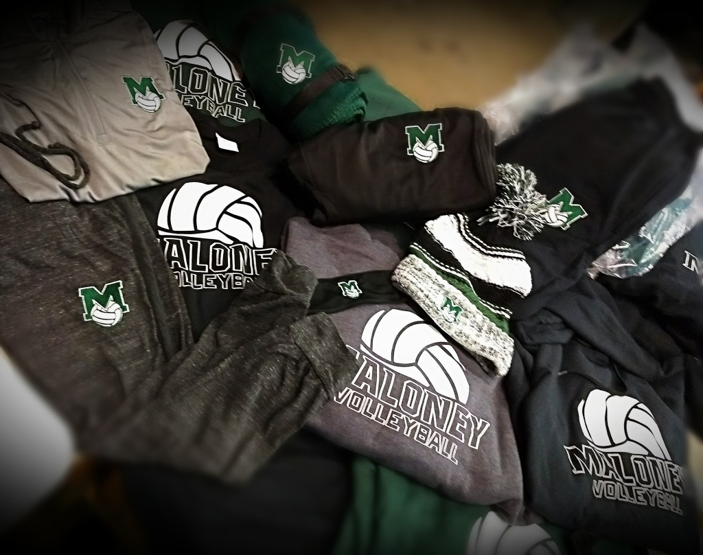 Maloney Volleyball Team Apparel 2