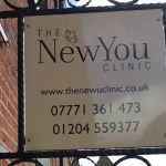 New You Clinic sign
