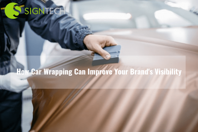 How Car Wrapping Can Improve Your Brand's Visibility